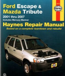 ford escape 2000 2007 workshop service repair pdf manual. Black Bedroom Furniture Sets. Home Design Ideas