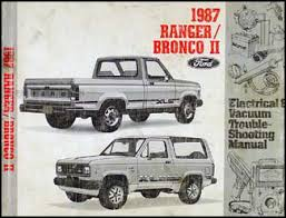 Ford Ranger Bronco 1983-1987 Workshop Service Repair